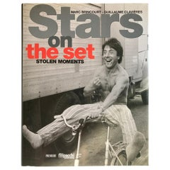 Stars on the Set Stolen Moments Hardcover Table Book