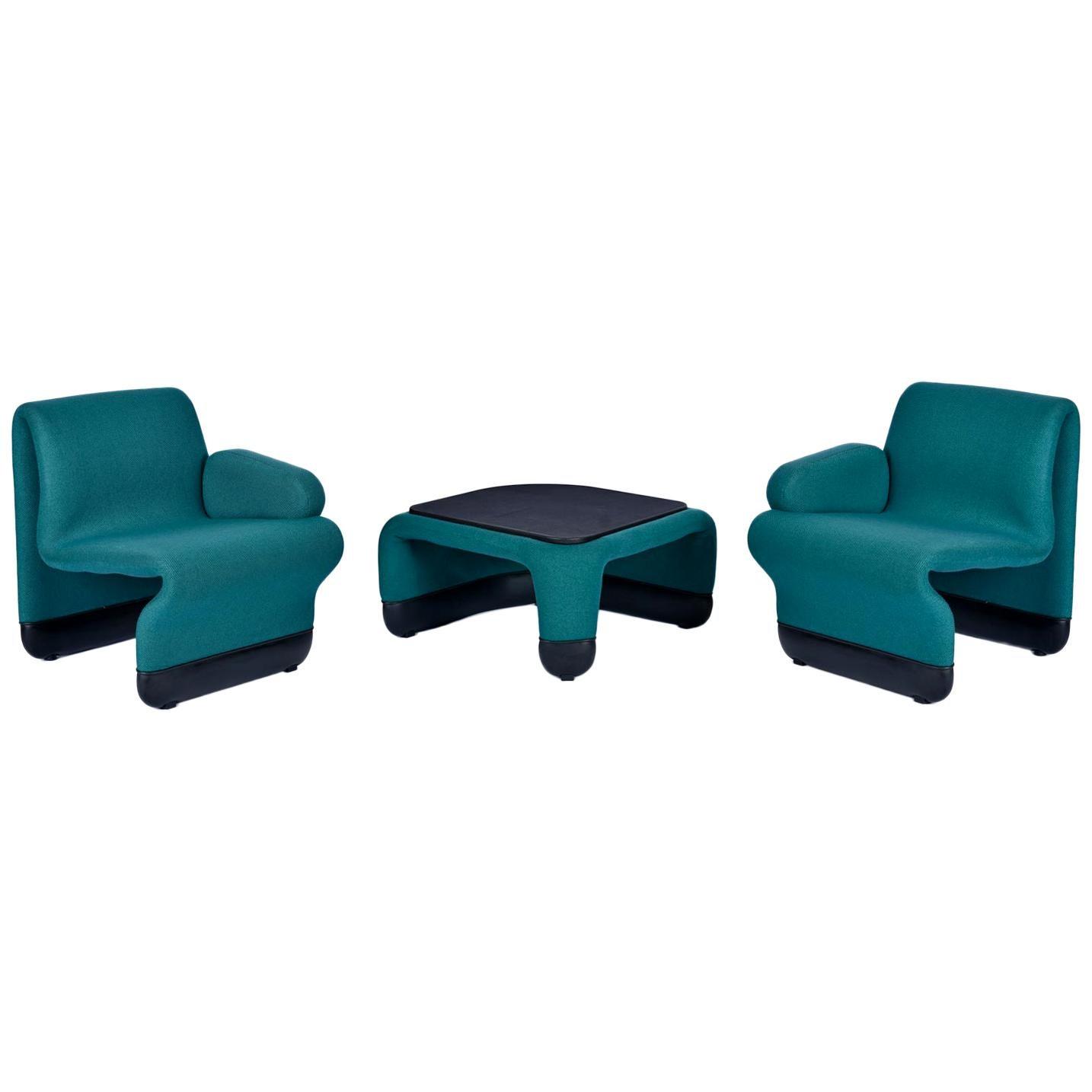 Start Trek TNG Ten Forward Suspension Seating Group by Paul Boulva for Artopex