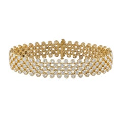 Statement Diamond Bracelet 13.30ct