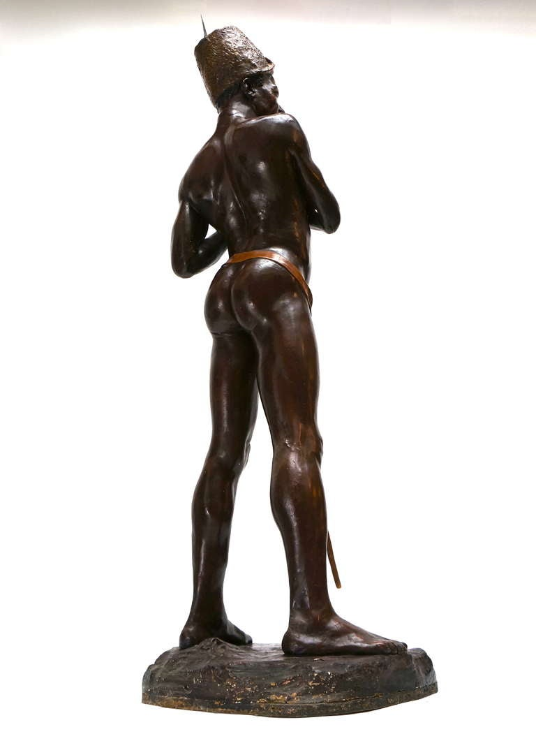 Plaster Statue Inspired Luc Tuymans to Create His Famous Painting Sculpture For Sale