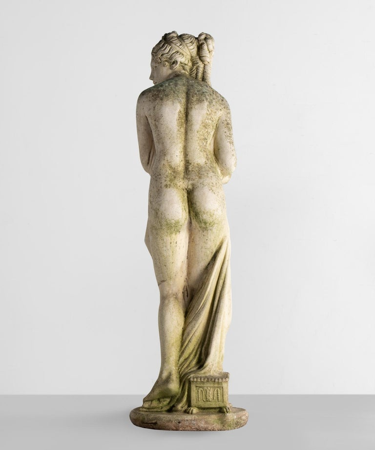 British Statue of Venus Bathing, England, circa 1950 For Sale