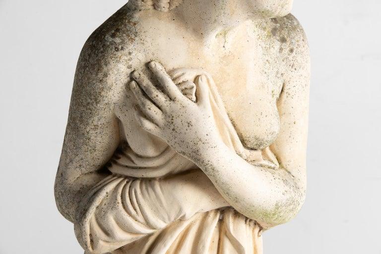 Mid-20th Century Statue of Venus Bathing, England, circa 1950 For Sale