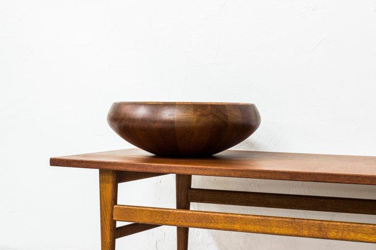 Scandinavian Modern Staved Teak Bowl by Jens H. Quistgaard for Dansk Design, Denmark For Sale