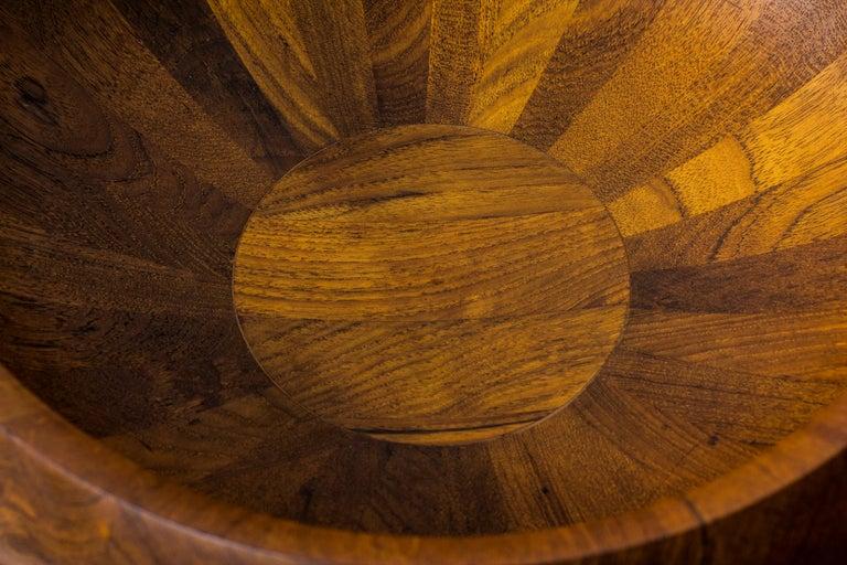 Staved Teak Bowl by Jens H. Quistgaard for Dansk Design, Denmark For Sale 1