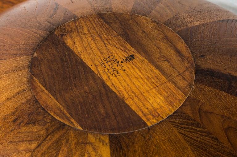 Staved Teak Bowl by Jens H. Quistgaard for Dansk Design, Denmark For Sale 2