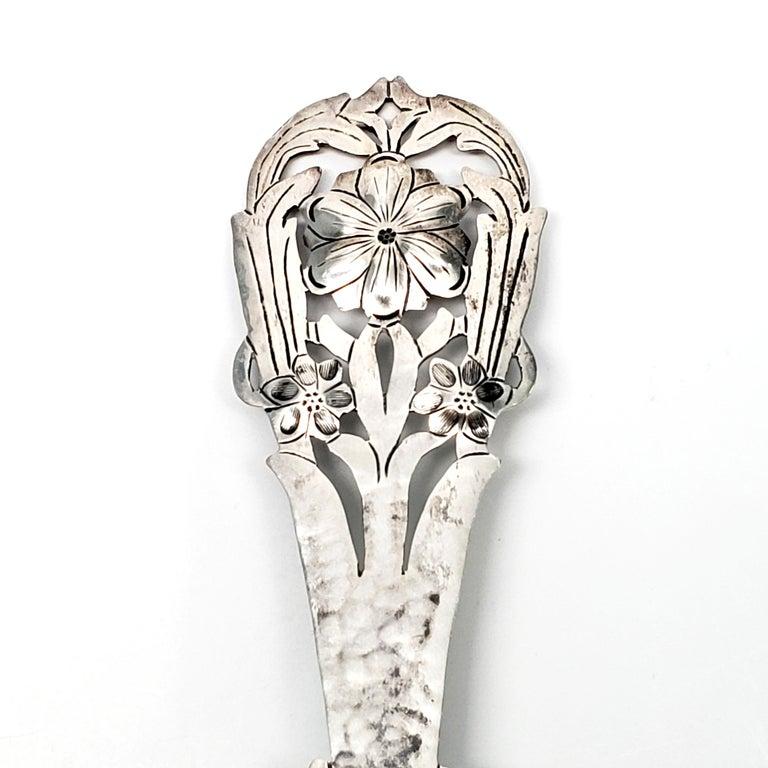 Stavre Gregor Panis Sterling Silver Flower Design Tea Strainer 3
