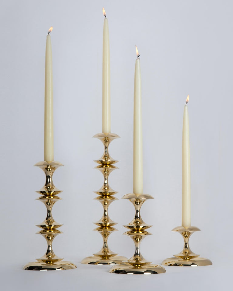 Polished Stayman Candlestick For Sale