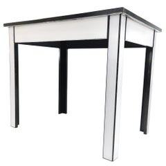 Steel and Enamel Dentist Table / Desk Industrial Midcentury