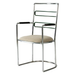 "Steel Armchair ""Stål"" by Axel Einar Hjorth for Nordiska Kompaniet, 1930"