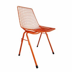 Steel Chair Chairs by Henryk Sztaba for Pss Spolem, 1970s