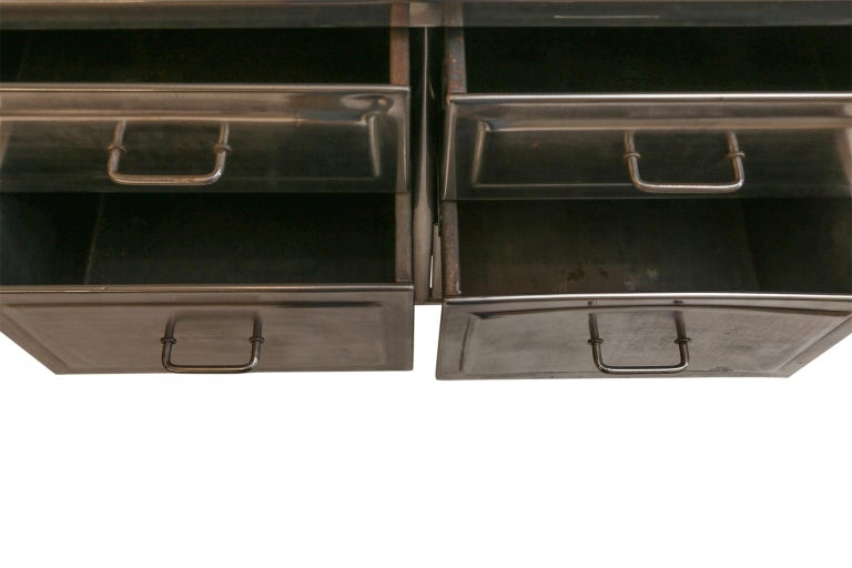 Steel Chest of Drawers For Sale 4