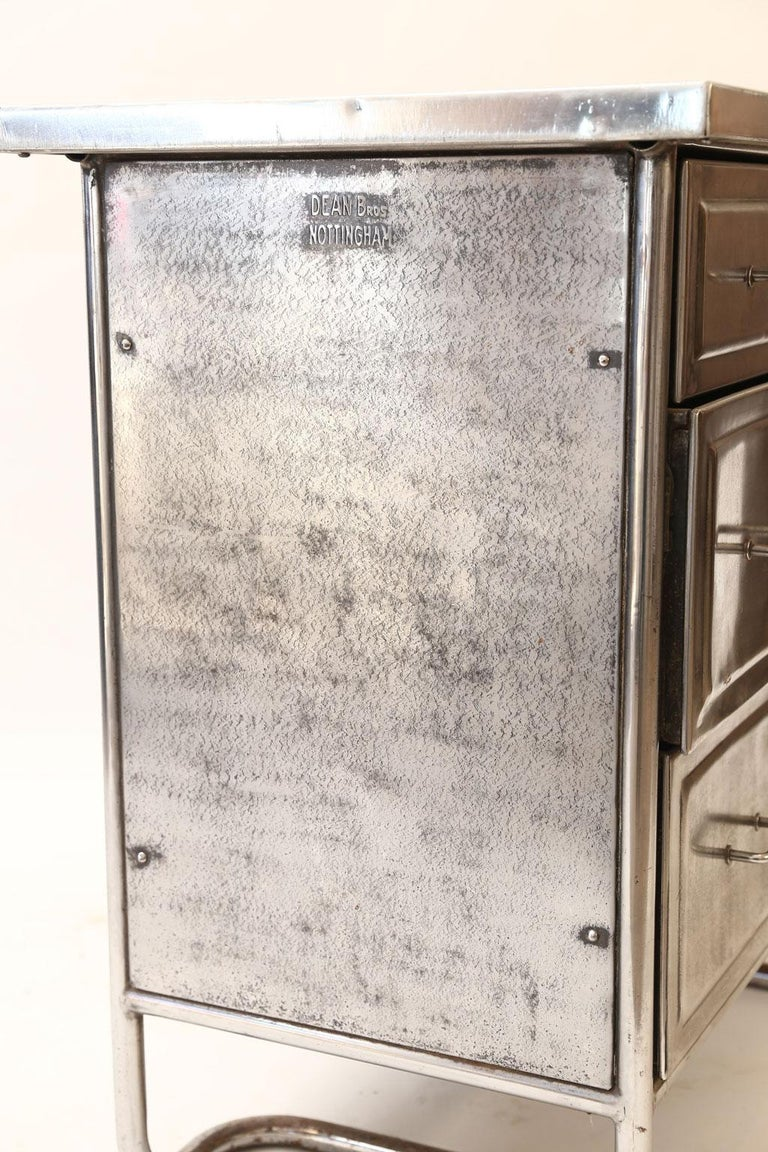 Steel Chest of Drawers For Sale 6
