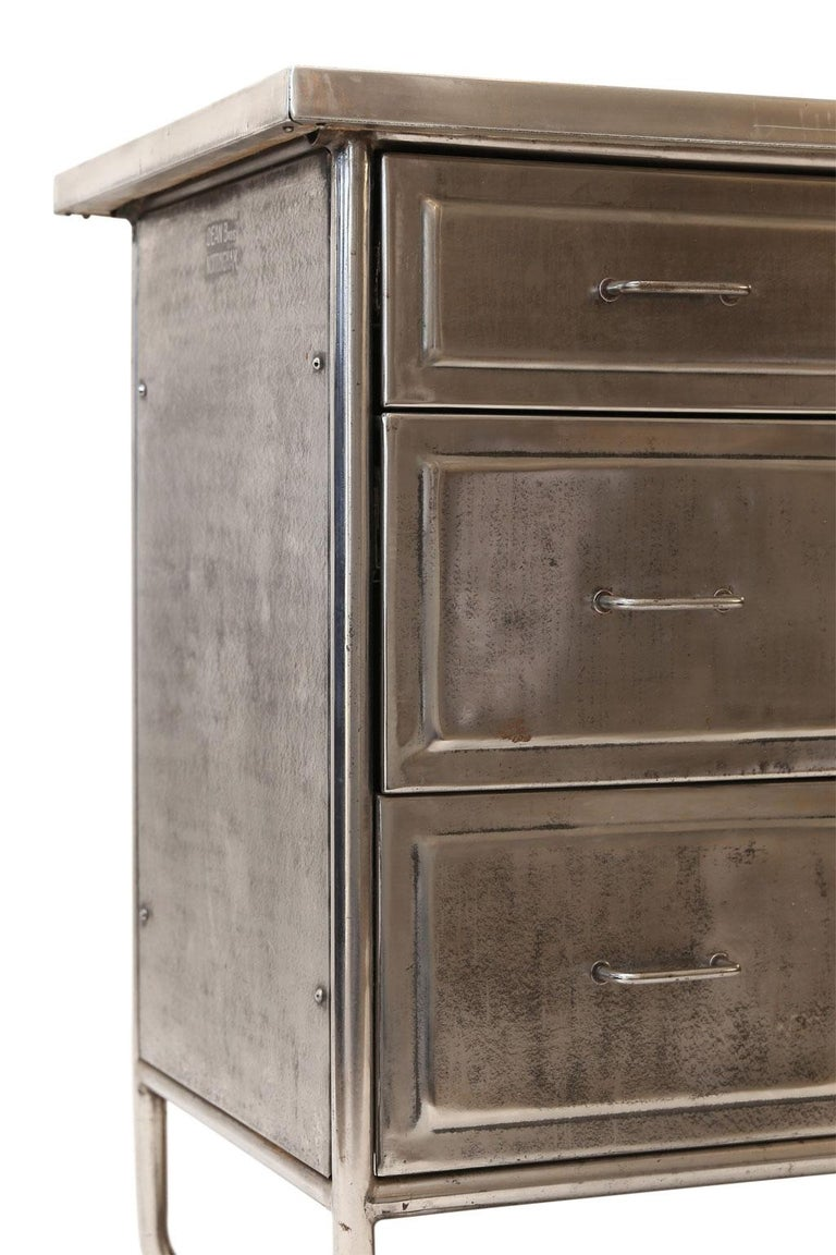 Steel Chest of Drawers For Sale 2