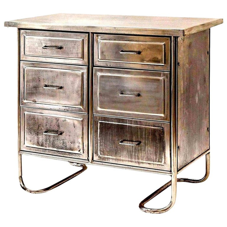Steel Chest of Drawers For Sale