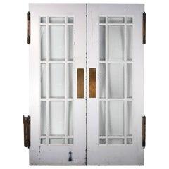 Steel Chickenwire Double Doors