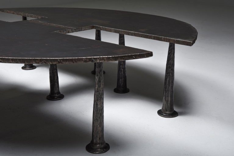Steel Coffee Table 'Resourcer 1' by Thomas Serruys In Excellent Condition For Sale In Antwerp, BE