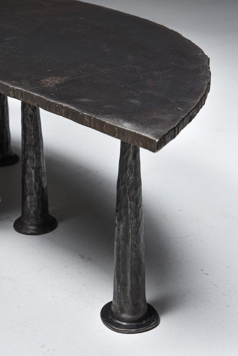Metal Steel Coffee Table 'Resourcer 1' by Thomas Serruys For Sale