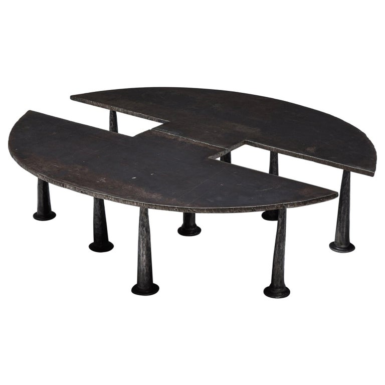 Steel Coffee Table 'Resourcer 1' by Thomas Serruys For Sale