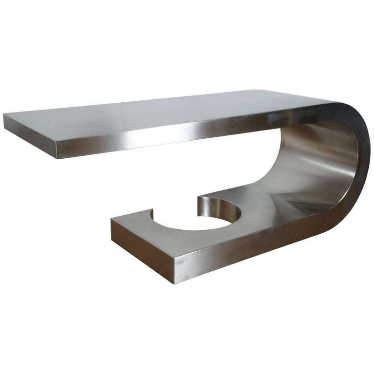 Steel desk called