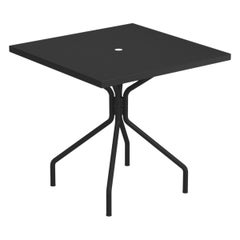Steel EMU 2/4 Seats Solid Square Table