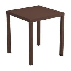 Steel EMU 2 Seats Nova Stackable Square Table, Set of 2 Items