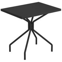 Steel EMU 2 Seats Solid Rectangular Table