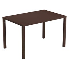 Steel EMU 4/6 Seats Nova Stackable Rectangular Table