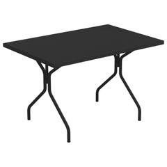 Steel EMU 4/6 Seats Solid Rectangular Table
