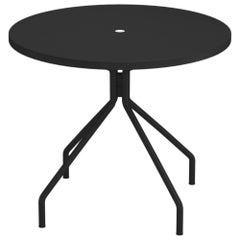 Steel EMU 4 Seats Solid Round Table