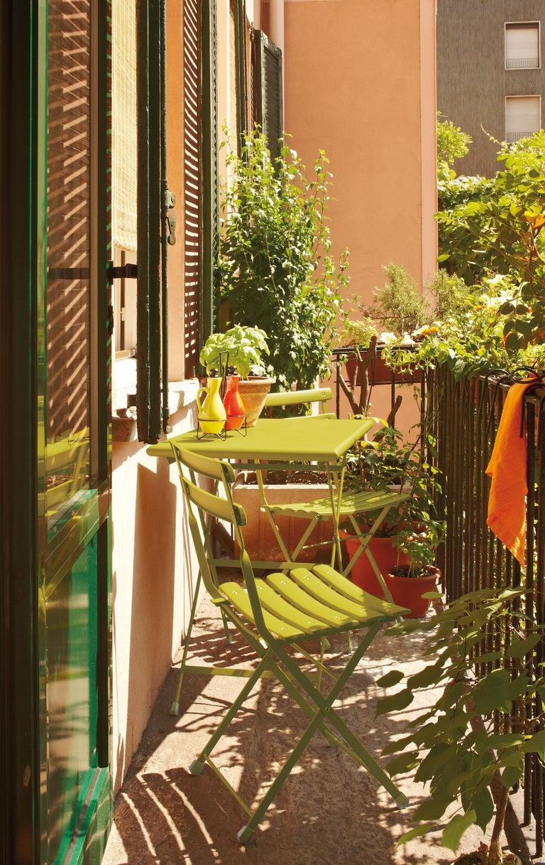 Steel Emu Arc en ciel 4 Seats Folding Rectangular Table In New Condition For Sale In Marsciano, IT