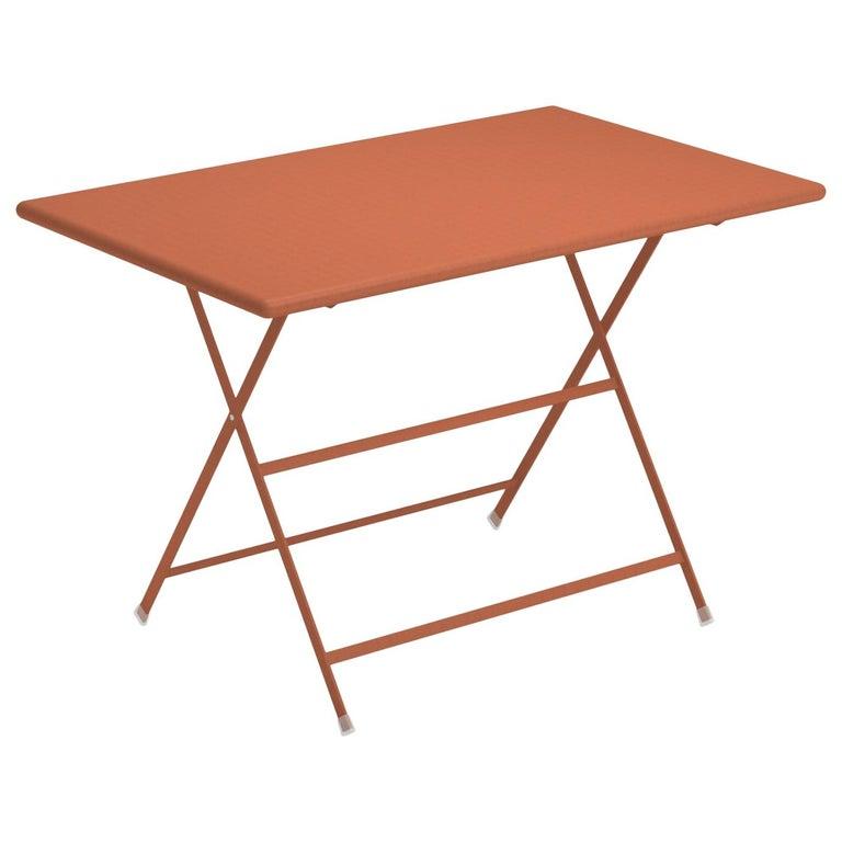 Steel Emu Arc en ciel 4 Seats Folding Rectangular Table For Sale