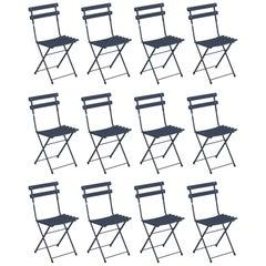 Steel EMU Arc En Ciel Folding Chairs, Set of 12 Items