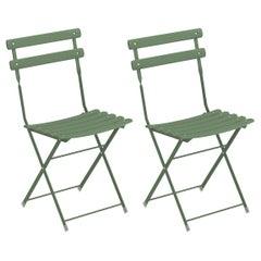 Steel EMU Arc en ciel Folding Chairs, Set of 2 Items