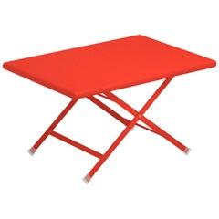 Steel Emu Arc En Ciel Folding Coffee Table