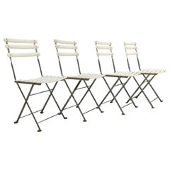 Steel EMU Arc En Ciel, Set 4 Folding Chairs