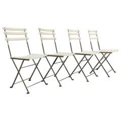 Steel EMU Arc En Ciel, Set 4 Folding Chairs