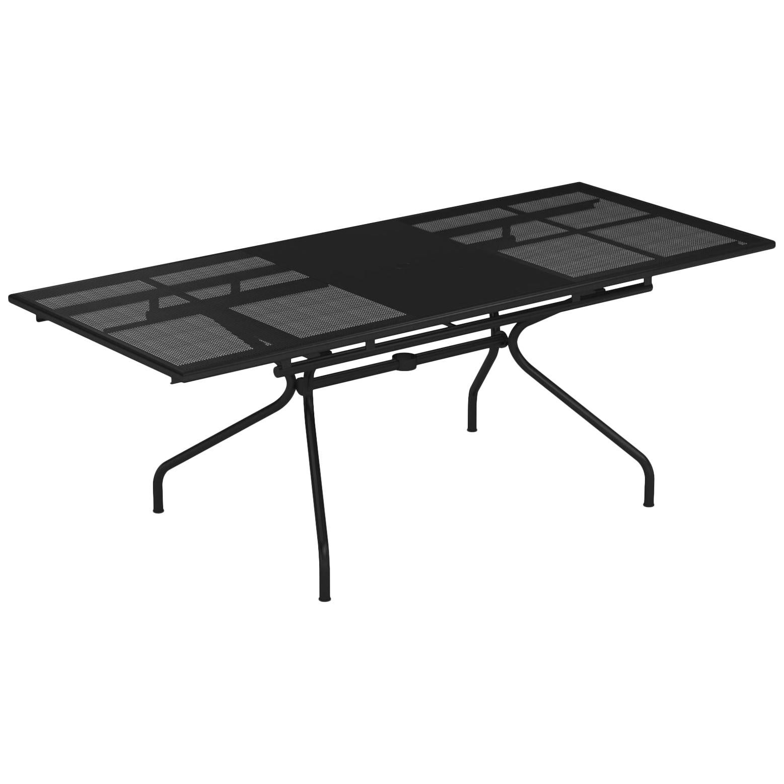 Steel EMU Athena 6+2 Seats Extensible Table