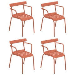 Steel Emu Miky Armchair - Set of 4 Items