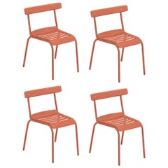 Steel EMU Miky Chair, Set of 4 Items