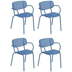 Steel EMU Mom Armchair, Set of 4 Items