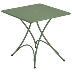Steel EMU Pigalle 2/4 Seats Folding Square Table