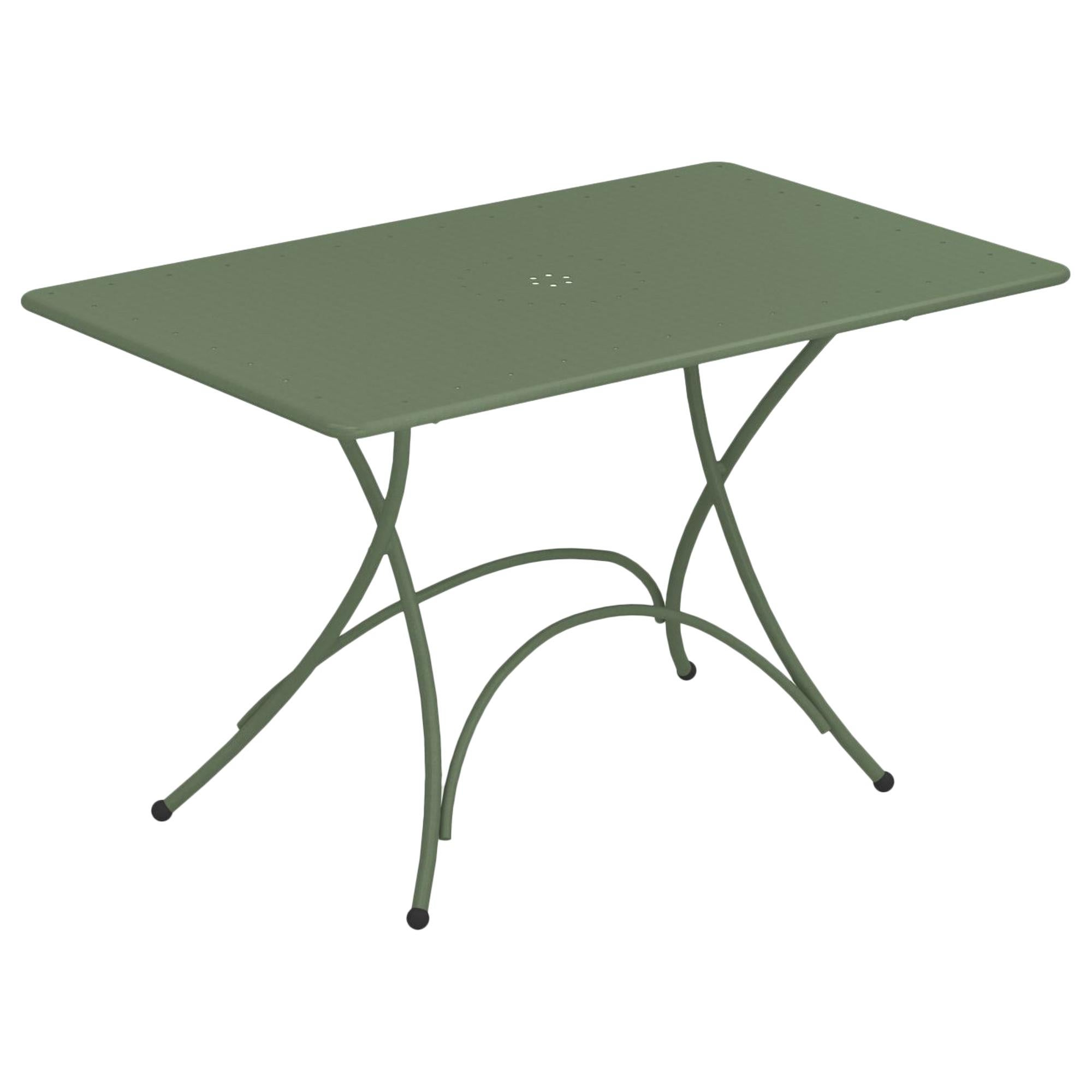Steel EMU Pigalle 4/6 Seats Folding Rectangular Table