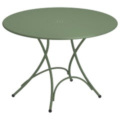 Steel EMU Pigalle 5 Seats Folding Round Table