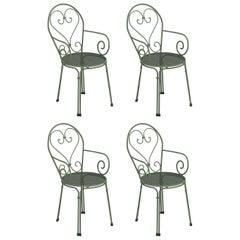Steel EMU Pigalle Armchair, Set of 4 Items