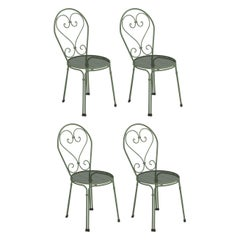 Steel EMU Pigalle Chair, Set of 4 Items