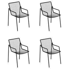 Steel EMU Rio R50 Armchair, Set of 4 Items