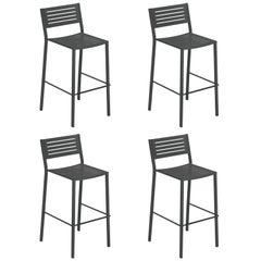 Steel EMU Segno Barstool, Set of 4 Items