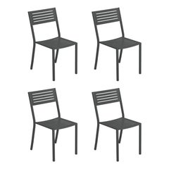Steel EMU Segno Chair, Set of 4 Items