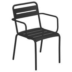 Steel EMU Star Armchair, Set of 4 Items