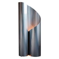 """Steel """"Fold Lamp"""" Lamp, Maria Tyakina"""